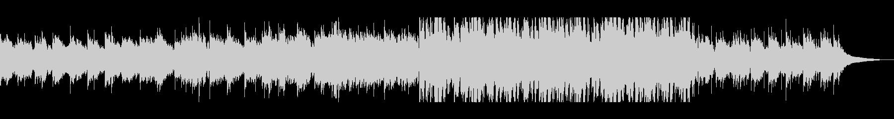悲しげなシンセピアノテクノバラードの未再生の波形