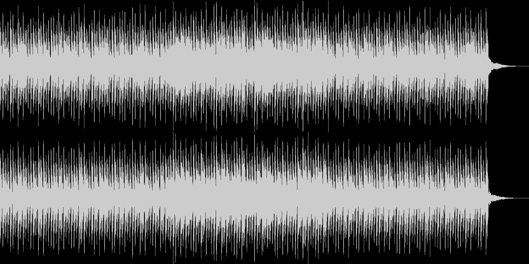 明るくパレードのようなシンセサウンドの未再生の波形