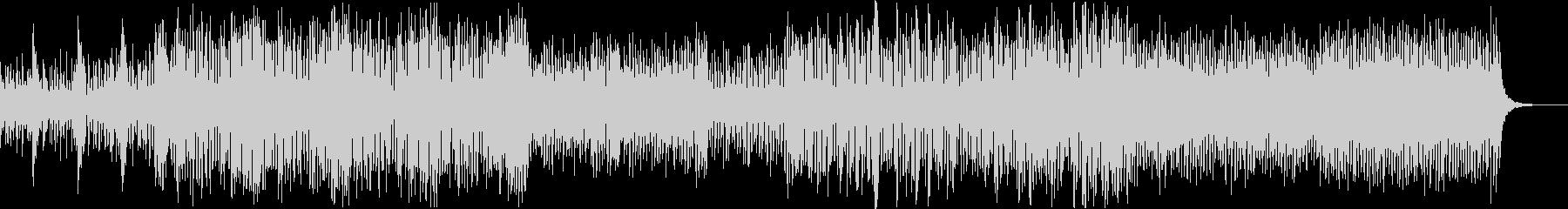 イントロ向けのコミカルなビッグバンドの未再生の波形