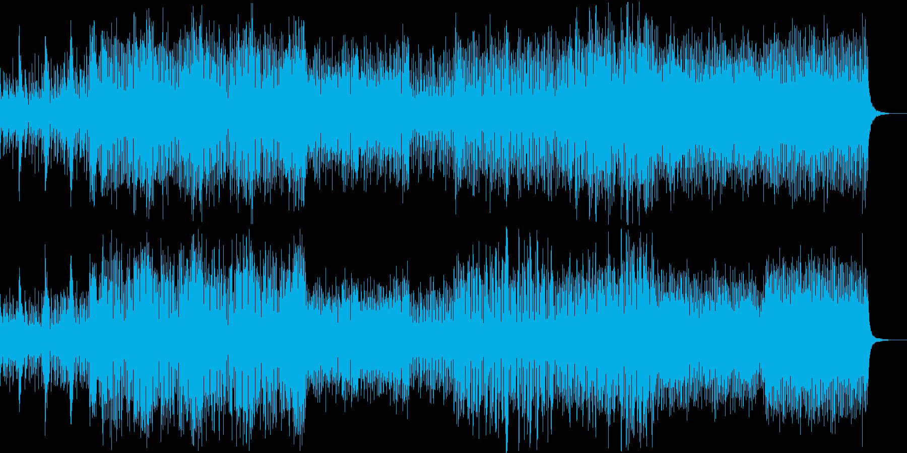 イントロ向けのコミカルなビッグバンドの再生済みの波形