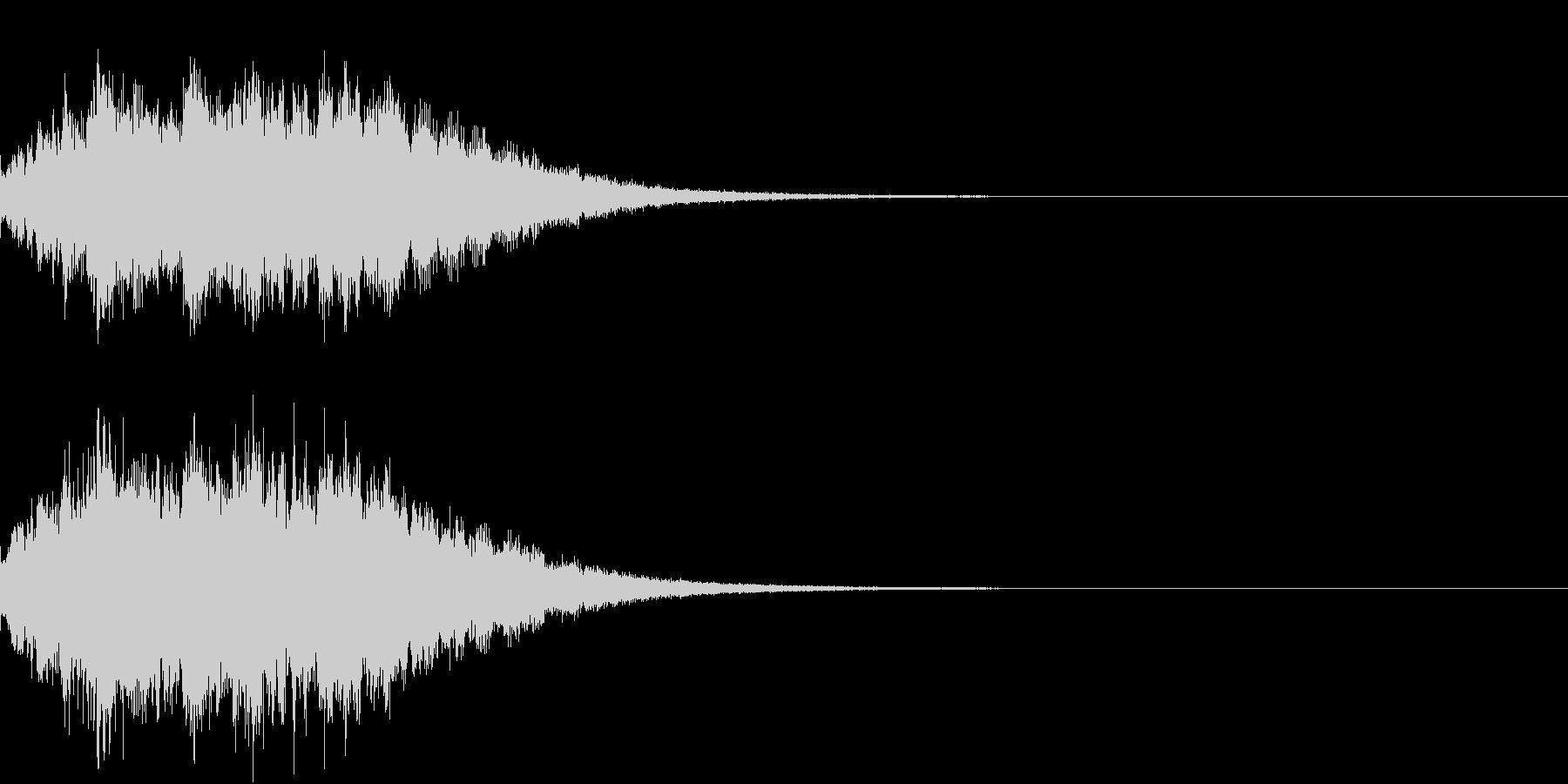 キラキラ 変化 おまじない 魔法 06の未再生の波形