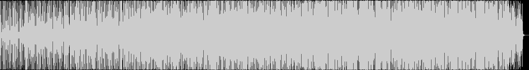 マリンバをメインにした不思議な民族音楽の未再生の波形