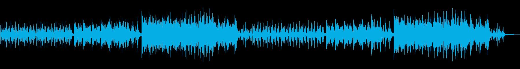 和を感じる切ないピアノソロバラードの再生済みの波形