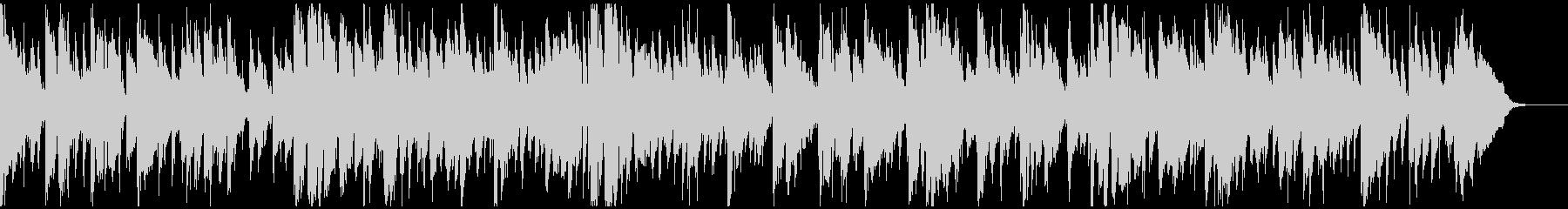生演奏・渋い大人の雰囲気のジャズワルツの未再生の波形