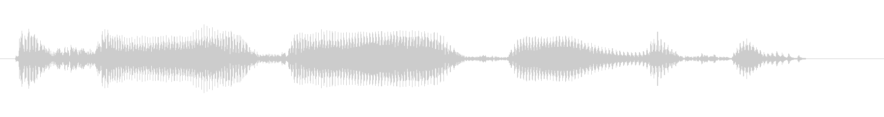 えへへへ 幼児(1~2歳)笑い声 の未再生の波形