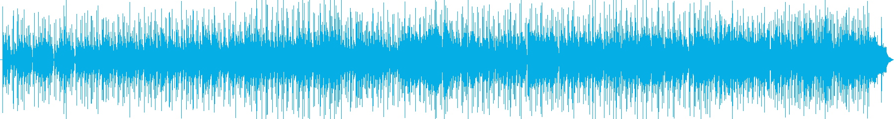 さわやかなインストのボサノバの再生済みの波形