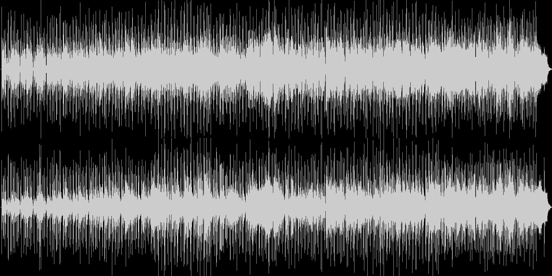 さわやかなインストのボサノバの未再生の波形
