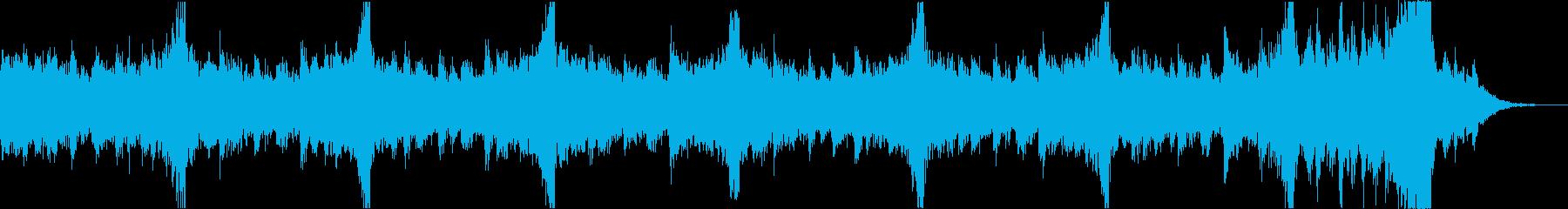 軽快おしゃれニューディスコエレクトロeの再生済みの波形