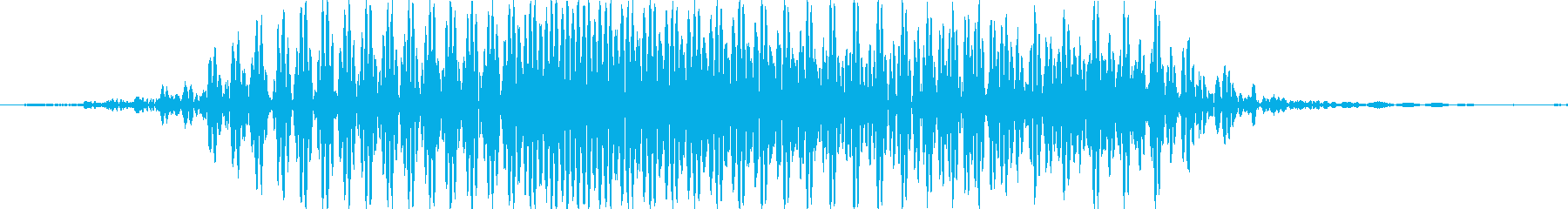 きゃっの再生済みの波形