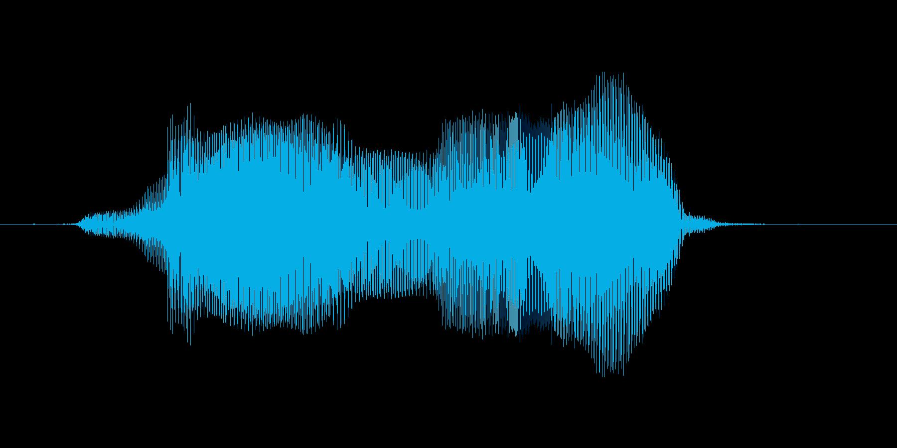 むむっの再生済みの波形