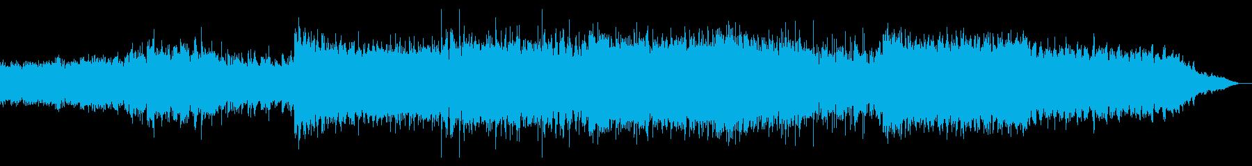 デジタルで歪なアンビエントIDMの再生済みの波形