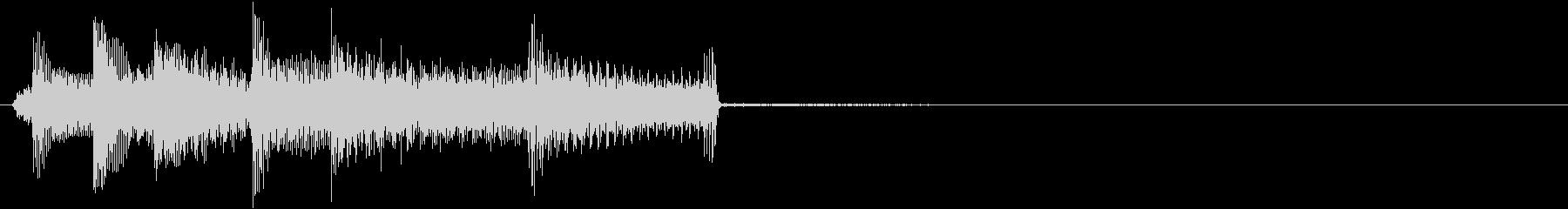 バンジョー:クイックピッキングアク...の未再生の波形