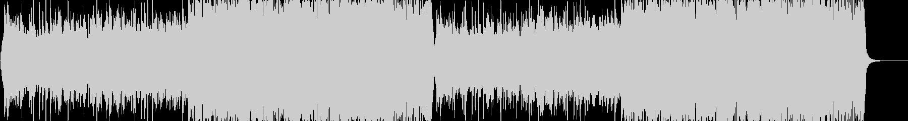 荒野・砂漠ステージのBGM【ループ】の未再生の波形