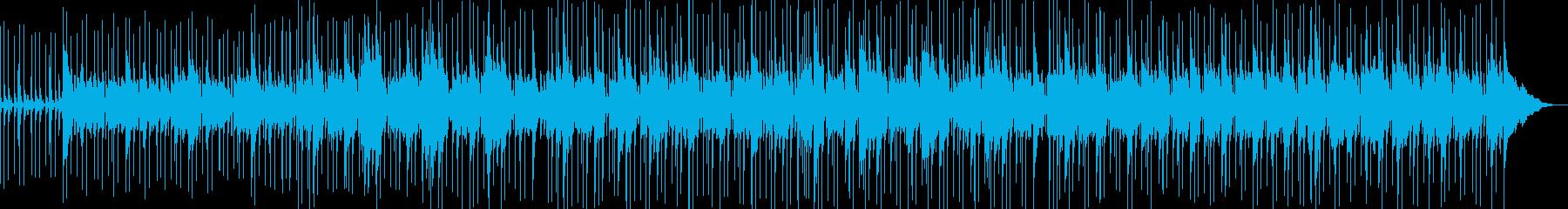 グルービング、アコースティックベー...の再生済みの波形