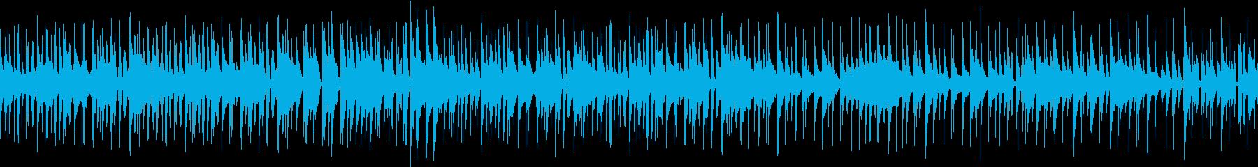 のんびりした印象のジャズトリオ ループ版の再生済みの波形