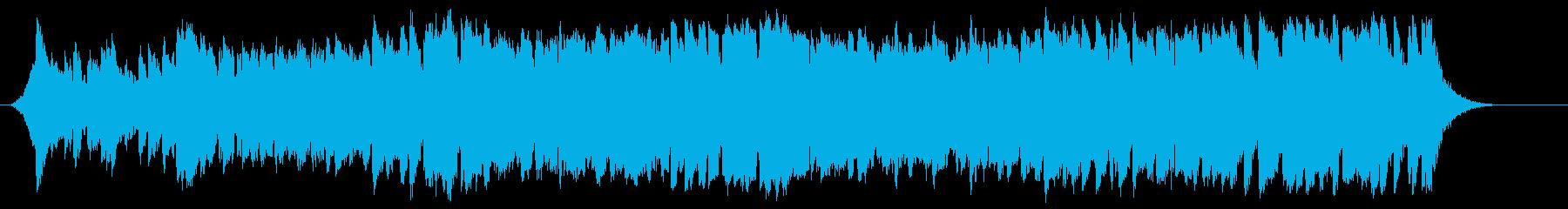 RPGの序盤で使える爽やかなオーケストラの再生済みの波形