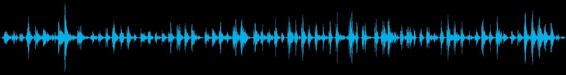 大きくて重いスリーベル:長いスロー...の再生済みの波形
