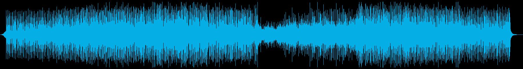 アジアン風のゆったりトロピカルハウスの再生済みの波形