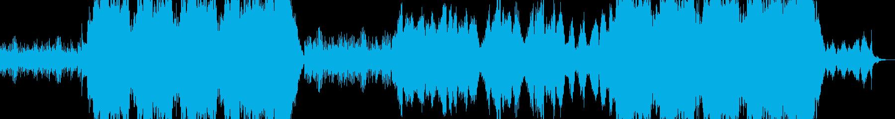 オーケストラ クワイヤー 感動の再生済みの波形