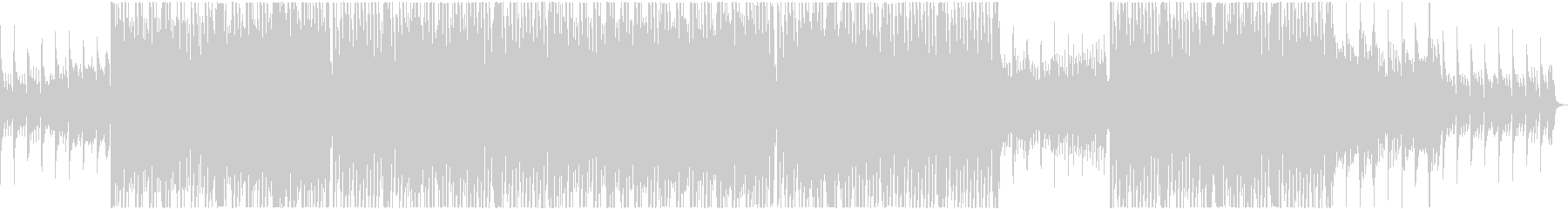 テラハで流れていそうなおしゃれBGMの未再生の波形