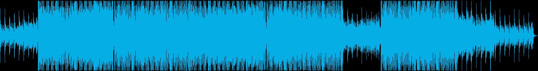 テラハで流れていそうなおしゃれBGMの再生済みの波形