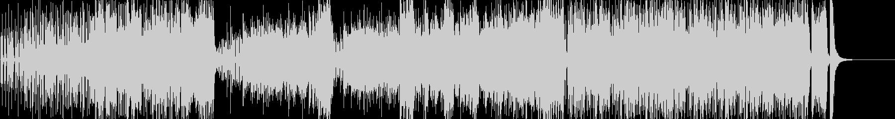 ノリノリなジャズの未再生の波形