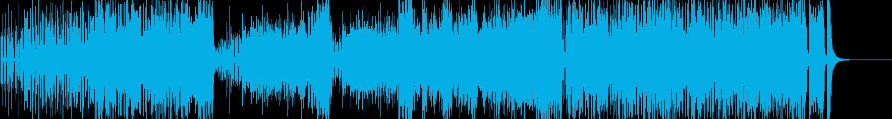 ノリノリなジャズの再生済みの波形