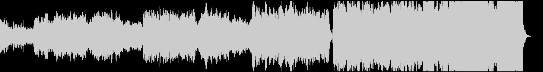 管弦楽による美しいBGMの未再生の波形