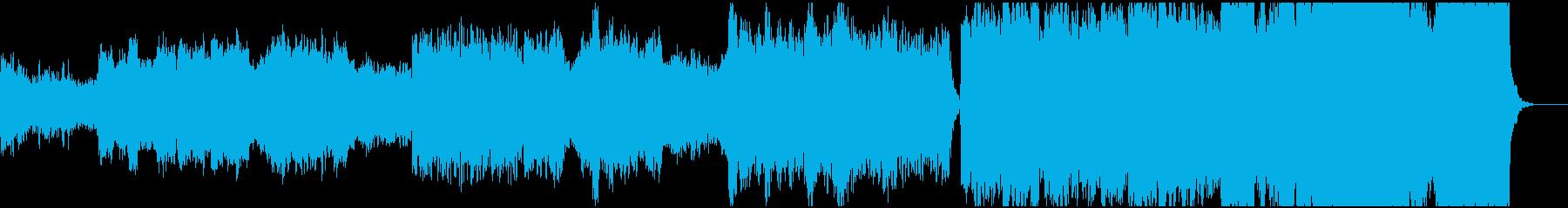 管弦楽による美しいBGMの再生済みの波形