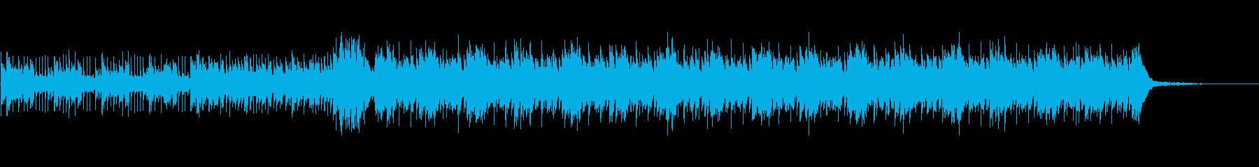 高音質♪企業PV向けテクノポップBGMの再生済みの波形