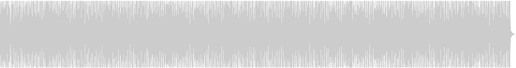 オシャレなエレクトロスウィングの未再生の波形