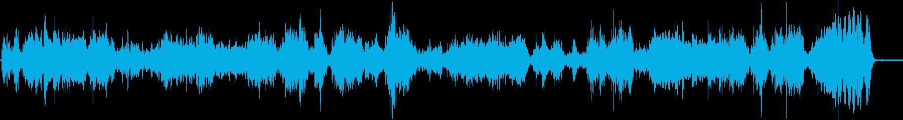 クラシック 感情的 楽しげ ファン...の再生済みの波形