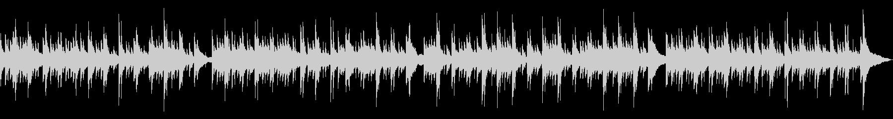 ピアノ・アコースティックギタ(のどか)の未再生の波形