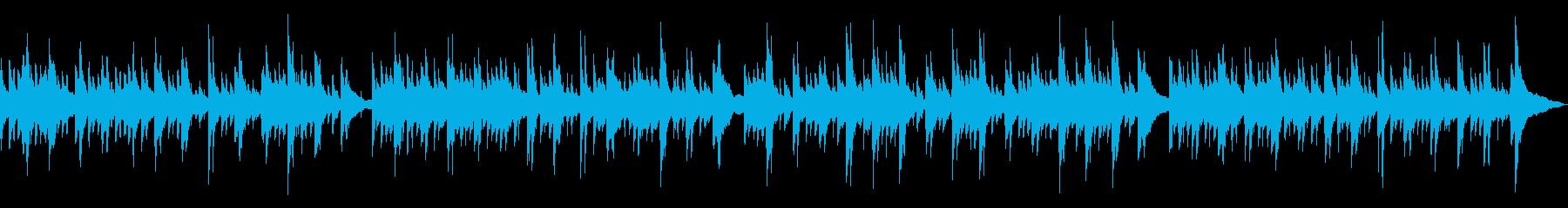 ピアノ・アコースティックギタ(のどか)の再生済みの波形
