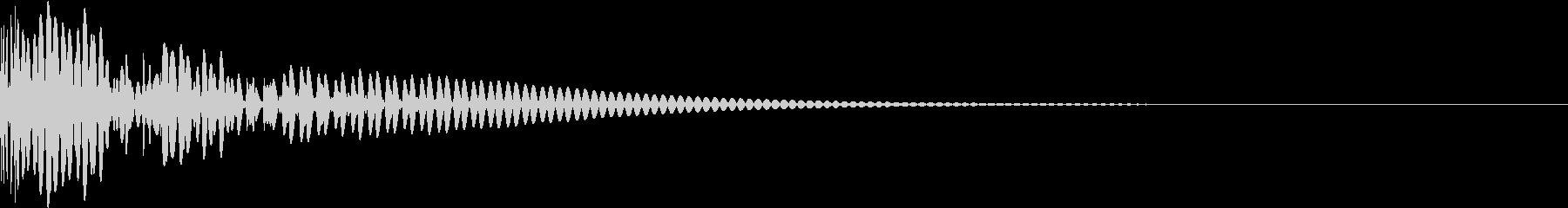 DTM Kick 101 オリジナル音源の未再生の波形