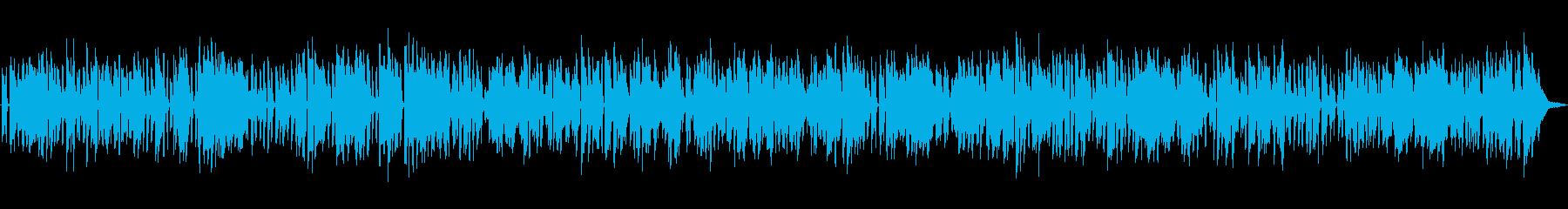 レトロで懐かしいオールドジャズの再生済みの波形