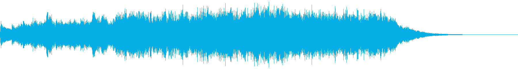 ジングル(奇妙風)の再生済みの波形