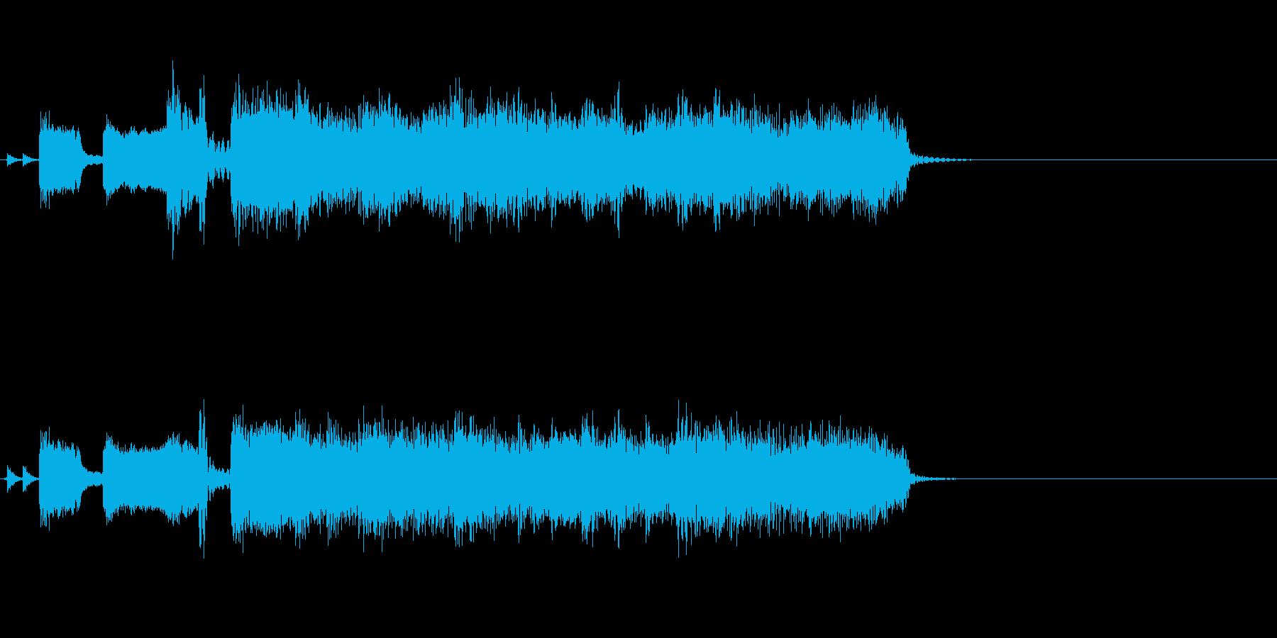 TVラジオ放送用。ロックアップテンポの再生済みの波形
