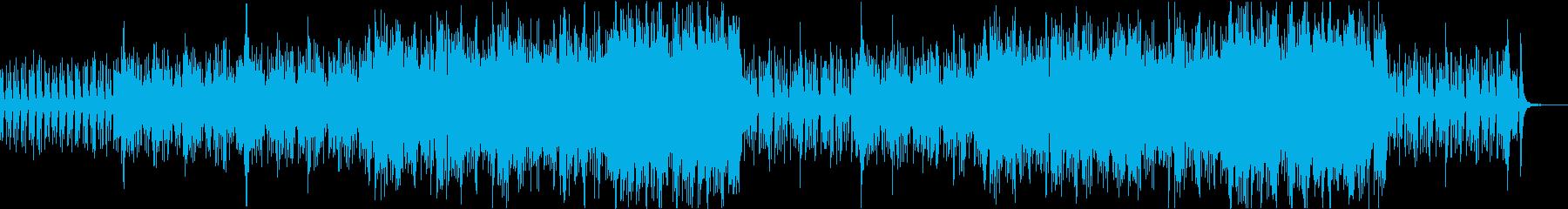 クラリネット&フルートのオーケストラの再生済みの波形