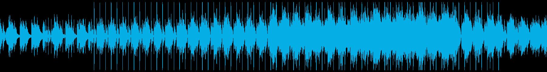 切ないギターのLofi Hiphopの再生済みの波形
