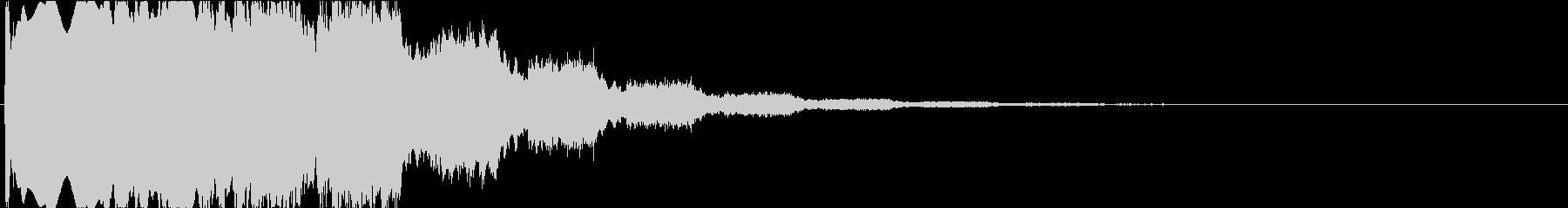 ゲーム:何か怪しいものを見つけた時の音3の未再生の波形