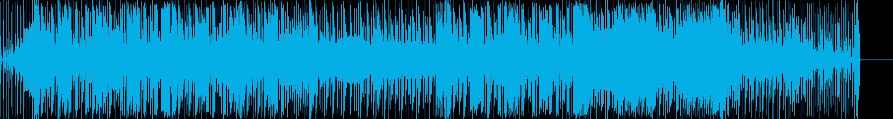 弾ける感じの明るいポップスの再生済みの波形
