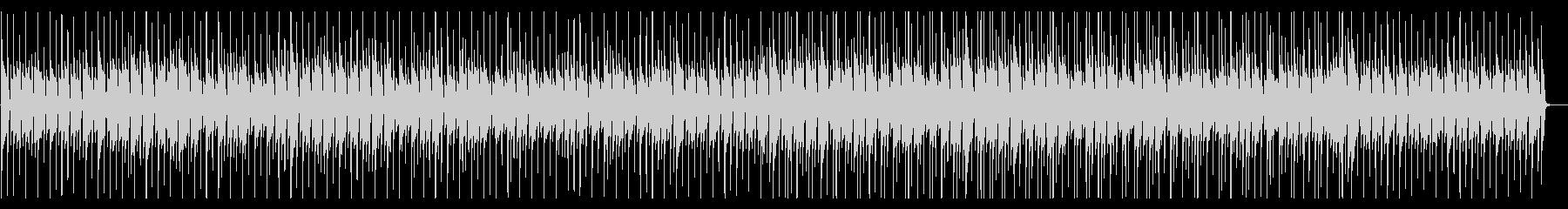 木琴の軽快なポップスの未再生の波形