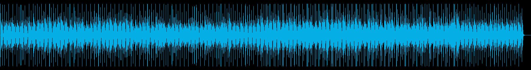 木琴の軽快なポップスの再生済みの波形
