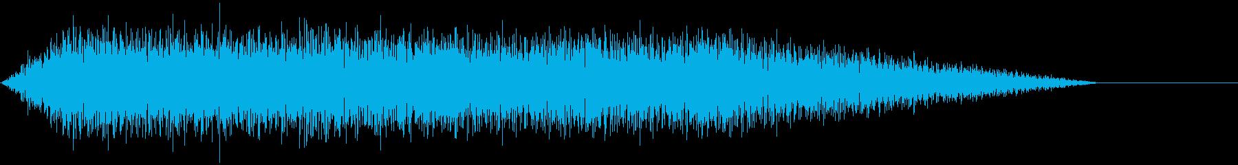 ウィーン ヴーン モーター音 の再生済みの波形