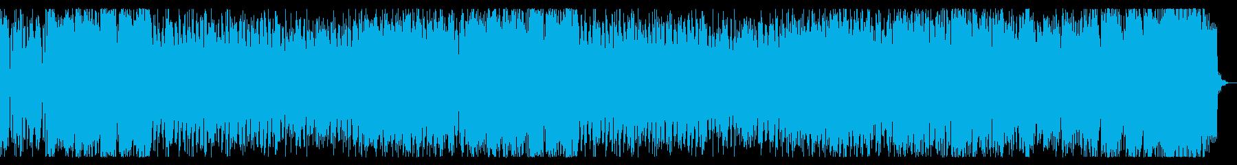 クール、軽快なチップチューンの再生済みの波形