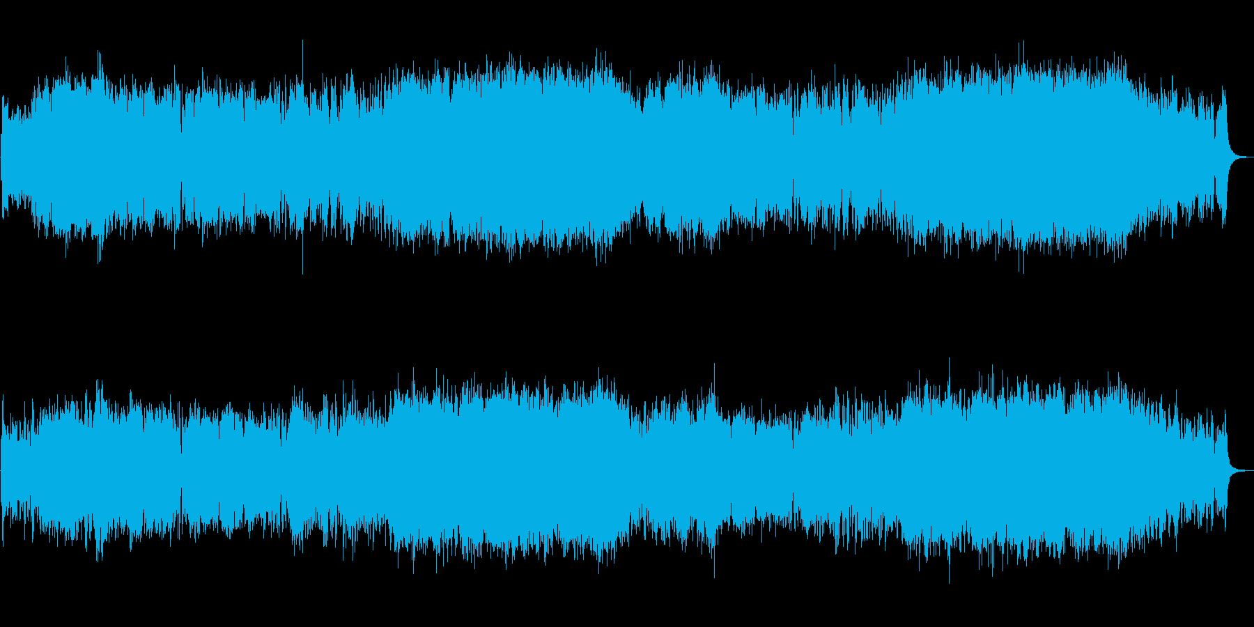 生演奏バイオリン/疾走感/オープニングの再生済みの波形