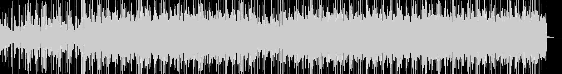 明るく弾ける感じのBGMの未再生の波形