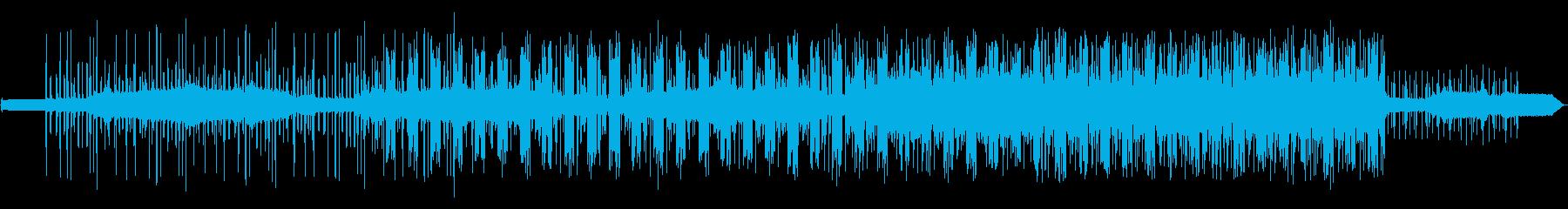 ノイズダークミニマルテクノの再生済みの波形