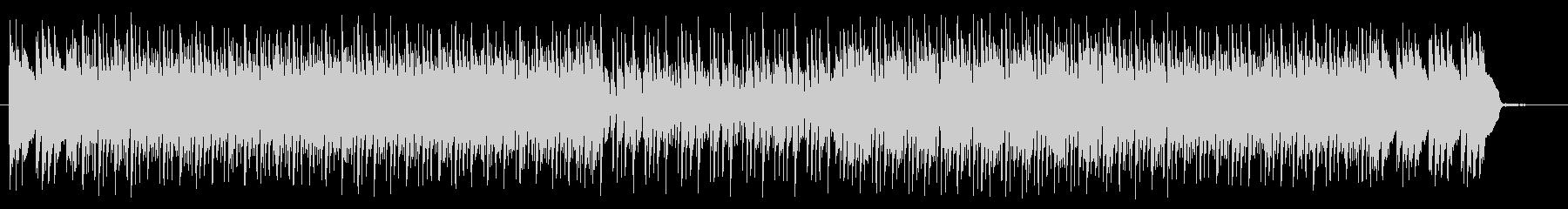 テクノポップとハードロックの融合の未再生の波形